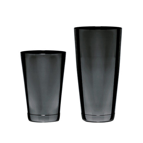 Boston Shaker set black plated