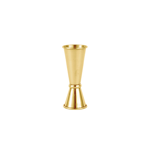 Jigger Japanese style 25/50ml gold