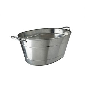 Bar tub galvanised