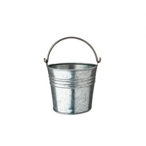 Appetizer cup galvanised