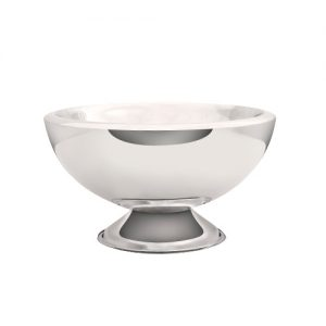 Champagne Bowl COMO double wall inox 43 cm height 24 cm