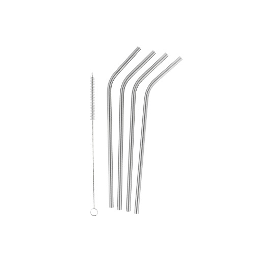 Drinking Straws stainless steel 4 pcs