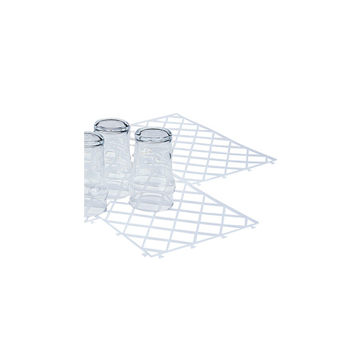 Interlock Glass mat transparent 30x20 cm