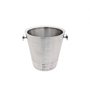 Wine Bucket Bormio double wall inox 13 cm height 20 cm